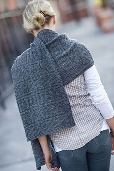 Guernsey Wrap (I have pinned another version of this one.)