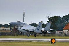 Still going strong the USAF F15 Eagle @RAF Lakenheath in Brandon, Suffolk.