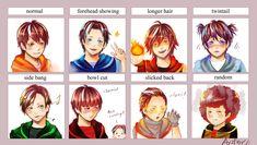 Boboiboy hairstyle meme by ayzfarr on DeviantArt Anime Galaxy, Boboiboy Galaxy, Reading Meme, Hair Meme, My Childhood Friend, Elemental Powers, Boboiboy Anime, Love Ya, Gaara