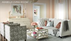 ARABELLA SHOP OUR LIVING ROOMS AT HORCHOW // HOME LIVING ROOM INTERIOR DESIGN DECOR APARTMENT