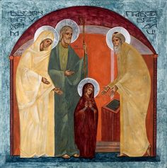 Entrance of the Most Holy Theotokos Into the Temple Whispers of an Immortalist: Icons of Christ's Infancy 1