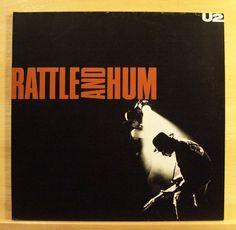 U 2 (U2) - Rattle and Hum - mint minus Vinyl 2-LP - Desire Angel of Harlem Pride