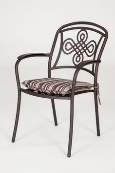 This is our best selling metal garden chair, the Brompton. http://outsideedgegardenfurniture.co.uk/metal-garden-furniture-range/
