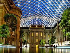 Smithsonian Museum of American Art & National Portrait Gallery -courtyard