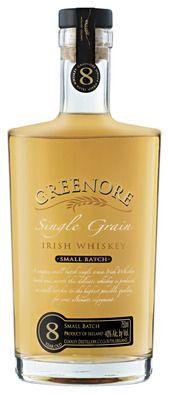 Greenore 8 Year Old Single Grain Irish Whiskey
