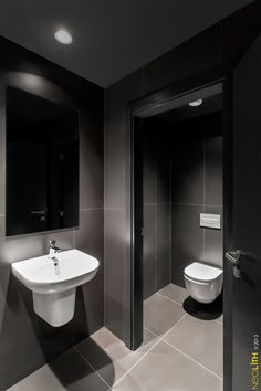Neolith Black Home SOLID SURFACE MATERIALS NEOLITH BASALT - Commercial bathroom countertops