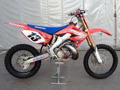 I had one identical to this Dirt Scooter, Honda Dirt Bike, Honda Bikes, Moto Bike, Mx Bikes, Motocross Bikes, Honda Motorcycles, Cool Bikes, Motocross Vintage