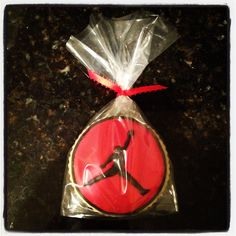 Jumpman Cookies by Cake Mockery.  I ship nationwide.  Visit CakeMockery on Etsy and private message for details!