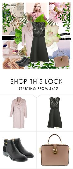 """Black & pink"" by margarita1107 ❤ liked on Polyvore featuring Better Homes and Gardens, Brunello Cucinelli, Dolce&Gabbana and Victoria Beckham"