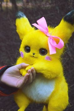 Cute Kawaii Animals, Baby Animals Super Cute, Cute Baby Dogs, Cute Little Animals, Pikachu Pikachu, Pikachu Kunst, Baby Animals Pictures, Cute Animal Photos, Cute Pokemon Wallpaper