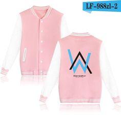 LUCKYFRIDAYF Alan Walker DJ Electronic Sound Men/Women Baseball Jackets Hiphop Pop Fashion Winter Kpop Coat Plus Size Outwear