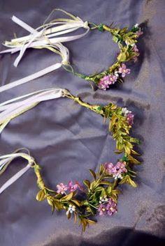 Ren-Fest Style Head Wreaths