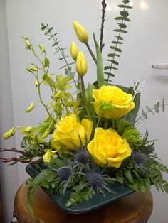 A splash of color from CR Fowers & Gifts in Bracebridge, ON