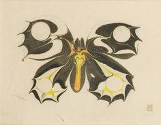 moser, koloman butterfly ||| animals ||| sotheby's pf1730lot8rcn2en