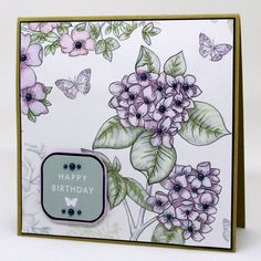Made by Clare Curd using the Birds and Blooms Collection from Craftwork Cards.