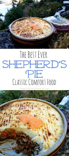 Shepherd's Pie is classic comfort food. One bite of this time-tested family favorite will wrap you in a blanket as warm as a winter fire. It's just that good. {Recipe}   The Good Hearted Woman