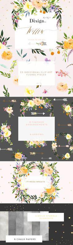 The Design Kit - Willow  - Illustrations - 4