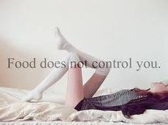 food does not control you
