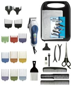 Wahl hair clippers made here! I just bought this kit for the boys and it works great!