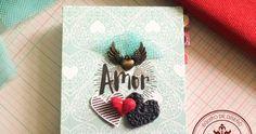 NOTAS DE AMOR Te traemos inspiración para este fin de semana !!! se trata de una increíble libreta cocida decorada los la colección posdata de texturarte y lo mejor, el cocido forma la palabra LOVE, no te la pierdas !!! http://crea-lo-inimaginable.blogspot.mx/2016/03/notas-de-amor.html #texturarte #crafting #scrapbook #scrapbooking #love
