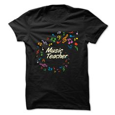 Music Teacher T-Shirt - Perfect T-Shirt for Music Teachers. Order yours today or get it as a gift for someone who you know would wear it. (Teacher Tshirts)
