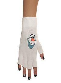 HOTTOPIC.COM - Disney Frozen Olaf Fingerless Gloves