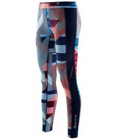 Printed Running Tights of the week - SKINS A200 Women's Compression Running Tights