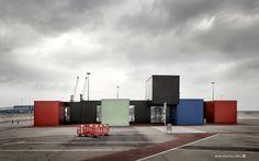 Estación maritima de contenedores en Gijón