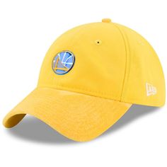 574f62c985989 Men s Golden State Warriors New Era Gold On-Court 9TWENTY Adjustable Hat