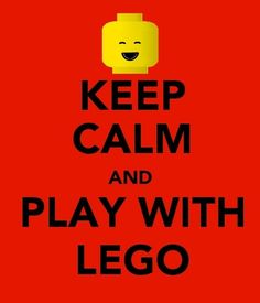 keep calm Lego