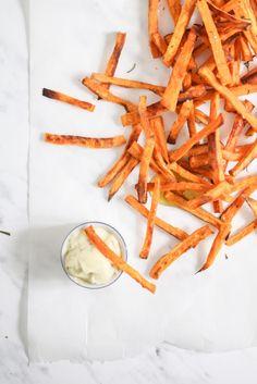 Homemade sweet potato fries for the win!