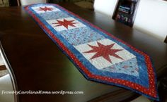 Perfect Patriotic Table Runner | Free Quilt Tutorial | FaveQuilts.com