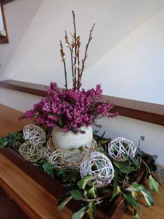 Easter decoration - Decorazione pasquale da tavolo -  Foto-diario di una giardiniera curiosa
