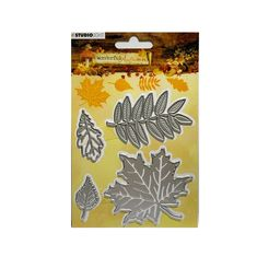 """CUTTLEBUG Provo Craft LEAVES /& NETTING 2/"""" x 6/"""" Must See"""