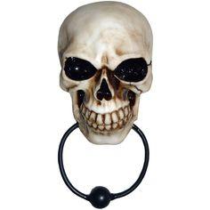 Marteau de porte Crâne - Boutique Gothique Romantique Gothyka