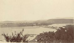 Narrabeen Lake in the Northern Beaches region of Sydney (year unknown). Avalon Beach, North Shore, Aerial View, Old Photos, Beaches, Sydney, Past, Australia, History