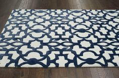 Reviews say it is lighter blue with gray background.  Satara Trellis FG69 Blue Rug | Contemporary Rugs #RugsUSA