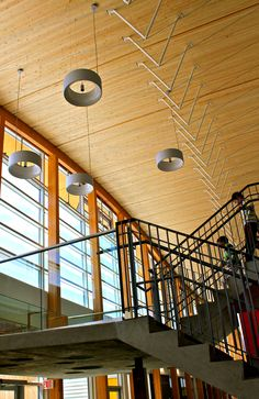 Lights. Brighouse Elementary. Perkins+Will