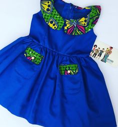 African wear for kids. African kids wear… By Diyanu - African Plus Size Clothing at D'IYANU Baby African Clothes, African Dresses For Kids, African Children, Latest African Fashion Dresses, African Print Dresses, Dresses Kids Girl, African Print Fashion, Kids Dress Wear, Kids Gown