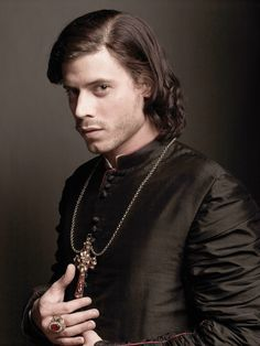 Cesare Borgia as played by Francois Arnaud, whom is my current fantasy. He's handsome on so many levels.