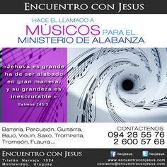 Hacemos el llamado a músicos para el Ministerio de Alabanza. Supernatural, God, Flute, Trumpet, Psalms, Dios, Allah, Occult, The Lord