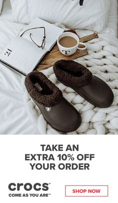 02681473aa3a Get Extra Cozy In Our Crocs Fuzz Lined Shoes with an Extra 10% Off Your