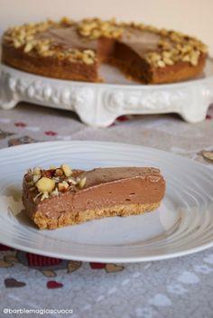 Nutella cheesecake (senza cottura) | Barbie magica cuoca - blog di cucina