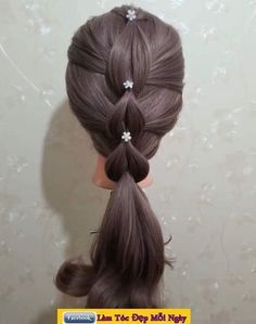Pin by Janine Arroyo on Peinados nena in 2019 Trendy Hairstyles, Braided Hairstyles, Party Hairstyles, Heatless Hairstyles, Long Haircuts, Beautiful Hairstyles, Everyday Hairstyles, Summer Hairstyles, Wedding Hairstyles