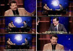 NDT on Colbert