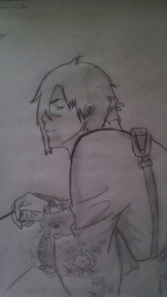 My drawing of Koujaku from dramatical murder by maizey droz