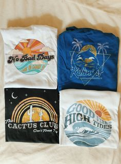 Fashion Vintage Some of our favorite summer graphic tees. With perfectly distressed, worn-in graphics, these tees have a vintage t-shirt look and feel. Vintage Summer Outfits, Look Vintage, Dress Vintage, Mode Outfits, Grunge Outfits, Aesthetic Clothes, Aesthetic Shirts, Tee Design, Cute Shirts