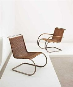 Vitra Chairs by Mies Van der Rohe