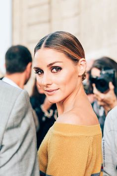 SNAPPED by benjaminkwan.com — Olivia Palermo at Valentino SS 2017 Paris Snapped...