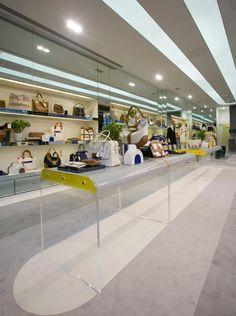 FormRoom for Anya Hindmarch | Deco Interior | #AnyaHindmarch #RetailInteriors #VM #RetailDisplay #Bespoke